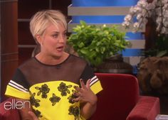 Kaley Cuoco Loves Her Short Haircut More Than You've Ever Loved Anything