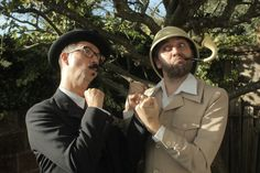 Chap-hop: Professor Elemental vs. Mr. B the Gentleman Rhymer. Really, you need this in your lives.