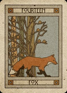 14 Fox - Chelsea-Lenormand Blue by Neil Lovell