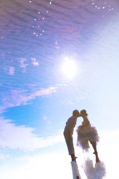 糸島 洋装ロケーション 海 前撮り,ウェディングドレス,福岡
