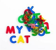 Transparent Alphabet Letters 26pc