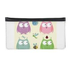 Owl Friends pink Eyeglass Case > Owl Friends - Pink > DrapeStudio See all of the coordinating products for this design in our shop at www.cafepress.com/drapestudio