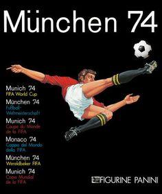 Álbumes Mundial Alemania 1974