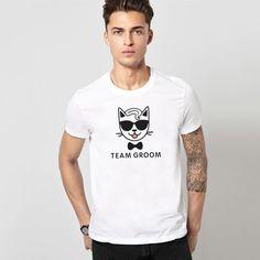 Team goom. Cotton t-shirt with a velvet print. US$15.99 #herocats#catshirt#summerstyle#cottonshirt#catstuff#catstyle#teamgroom#groomer#premiumcotton#whiteshirt#grooming#groomingday#groomstyle#forwedding#newbrand#weddingparty#weddingpartygifts#weddingideas#weddingshirt#catstuff#catstyle#cute#giftforhim#cotton100