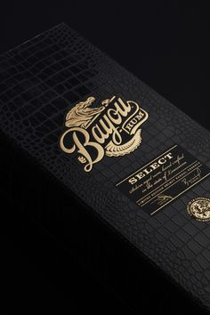 Bayou rum - select box - stoly group - Crocodile - Aligator - Packaging design by #LineaDesigners