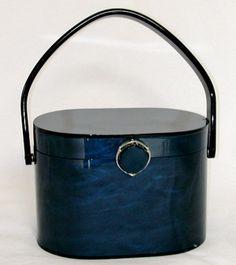 1950's Wilardy lucite purse