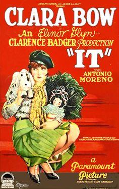 Clara Bow, movie poster