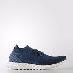 ADIDAS ULTRA BOOST UNCAGED PARLEY SHOES BLUE UK10 SOLD OUT