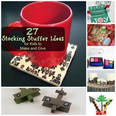 Need ideas? 27 Stocking Stuffer Ideas for Kids to Make and Give