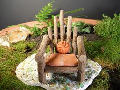 .twig chair & pillow