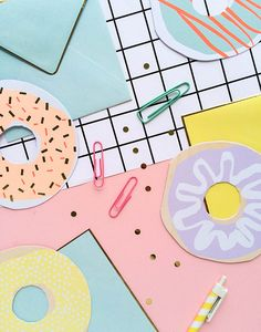 Donut notes! | Oh Happy Day Shop!