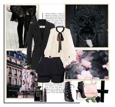 """~A Taste of Parisian Mystique~"" by johannamaria37 ❤ liked on Polyvore featuring MaxMara, Dolce&Gabbana, Chloé, Diane Von Furstenberg, Grey Mer, Lipstick Queen, bows, blazer, ankleboots and chloe"