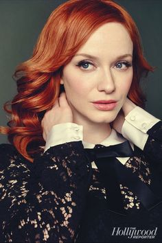 """Christina Hendricks: """"The [agency I was with] was like, 'It's on AMC, it's a period piece, it's never going to go. Are you crazy? You're not going to make money for us,' """" Hendricks recalls. """"I thought it was a little impatient of them. So I moved on."""""""