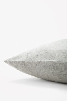 Square wool-cashmere cushion