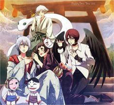 Tags: Anime, Kamisama Hajimemashita, kuro-mai, Nanami Momozono, Tomoe (Kamisama Hajimemashita)