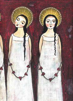 4 Folk angels