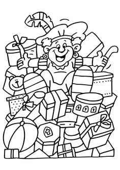 * Tussen de pakjes! Colouring Pages, Adult Coloring Pages, Diy And Crafts, Arts And Crafts, Simple Doodles, Woodland Party, Christmas Colors, Easy Drawings, Prints