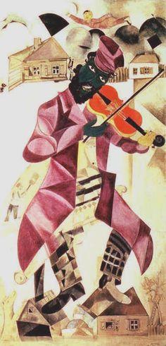 "Marc Chagall - ""Music"", 1920"