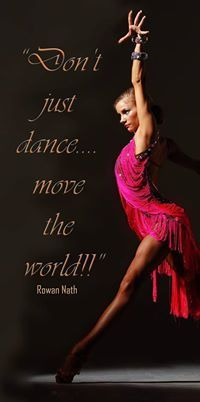 Picture of Yulia (teaches at The Ball NY when in NY) - Dance Quote #dance #lovedance #dancequote #fierce