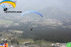 Paragliding Quito Ecuador Get out of the routine, this weekend begins with new adventures and challenges. Enjoy paragliding and feel the adrenaline of the sport.
