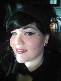 For my jazz gig Septum Ring, Vintage Inspired, Jazz, Wigs, My Style, Makeup, Beauty, Fashion, Hair Wigs