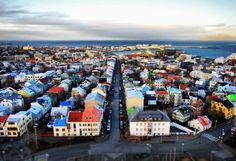 Meet me in Europe        Reykjavik, Iceland     By Toshio Kishiyam