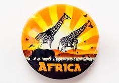 Giraffe Africa Magnet - 2786 African Crafts, African Art, Giraffe, Goodies, Arts And Crafts, Kids, Sweet Like Candy, Children, Treats