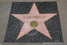Elvis Star in Hollywood, CA
