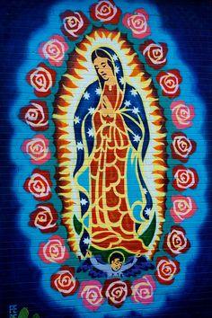 Guadalupe street mural