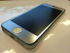 i5 Silvef Galaxy Phone, Iphone