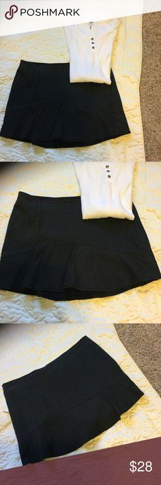 Perfect Black Free People Skirt Versatile Any Season Free People Skirt, Wear with Tights or Over the Knee Socks Free People Skirts
