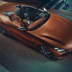 BMW will show the Concept Z4 at the Concept Lawn at thePebble Beach Concours d'Elegance on Sunday