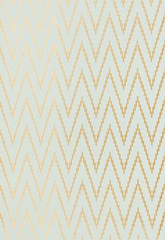 1/2bath accent wall:  Wallcovering / Wallpaper | Kasari Ikat in Aquamarine | Schumacher  Bathroom wallpaper
