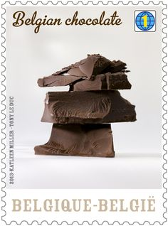 chocolate stamps