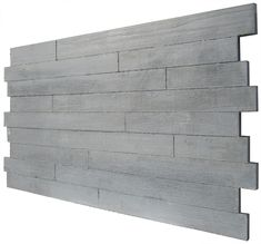 Board formed wall panels beautifully combine the movement, depth, and rawness of both wood and concrete into one product. Concrete is cast on wood slats set into the mold. Concrete Cladding, Concrete Wall Panels, Concrete Wall Texture, Concrete Stairs, Concrete Fireplace, Concrete Forms, Wood Panel Walls, Fireplace Design, Cladding Panels