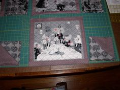 Quilts Sew Shabby Blog: The Ghastly Place-mats and Napkins
