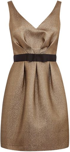 Womens gold prom dress from Warehouse - £70 at ClothingByColour.com