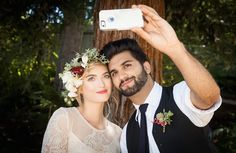 Selfie at the end of the aisle, anyone? Bridal Musings Wedding Blog