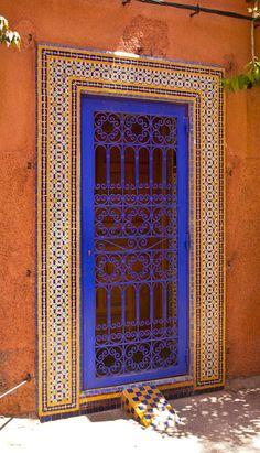 Marrakech door ~ Morocco