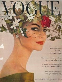 Vogue February 1960, via We Heart Vintage