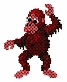 Orangutan Hama beads - Hama 3031