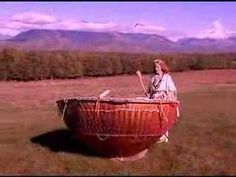 White Eagle Medicine Woman Plays the Grandmother Drum - I had the honor of playing this drum in Sedona with others a few years ago...great work going on around the world with this drum!  http://whirlingrainbow.com/