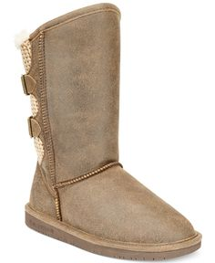 BEARPAW Boshie Cold Weather Boots - Boots - Shoes - Macy's