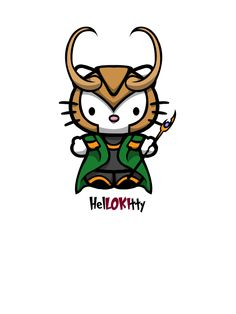 Loki kitty by yayzus on deviantART