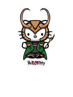 Loki kitty by yayzus on deviantART
