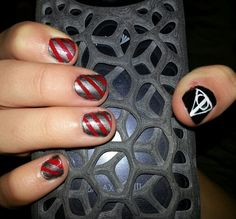 Harry Potter Nail Art Designs Harry Potter Pinterest Harry