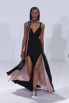 All The Gowns From Spring 2015 - NYFW - Elle no sneakers with gowns!