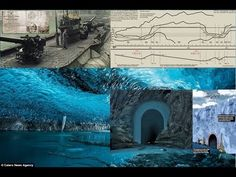 High Strangeness in Antarctica   Tunnels as tall as the Eiffel Tower dis...