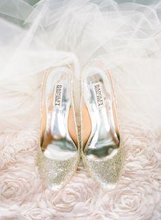 Badgley Mischka Bridal Shoes - via Ryan Ray Photography