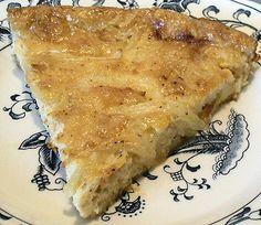 Texas Sweet Onion Pie Shared on https://www.facebook.com/LowCarbZen